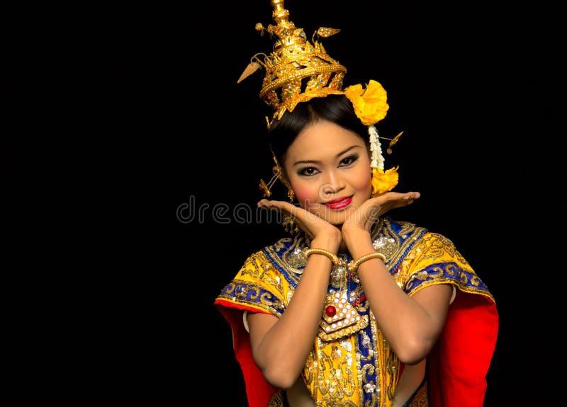 Danse thaïe images stock