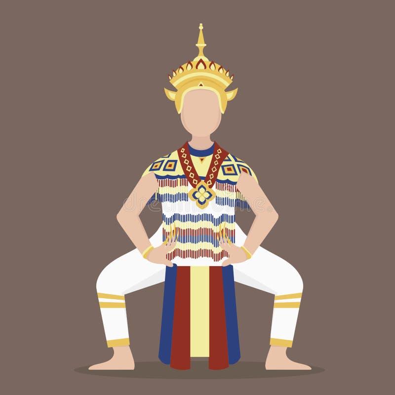 Danse thaïlandaise du sud photos libres de droits