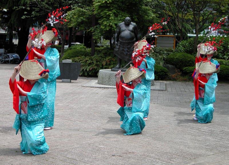 Danse traditionnelle photo stock