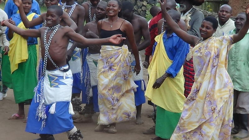 danse tribale image libre de droits
