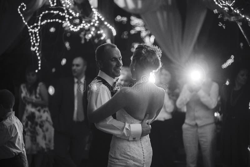 Danse Wedding photographie stock libre de droits