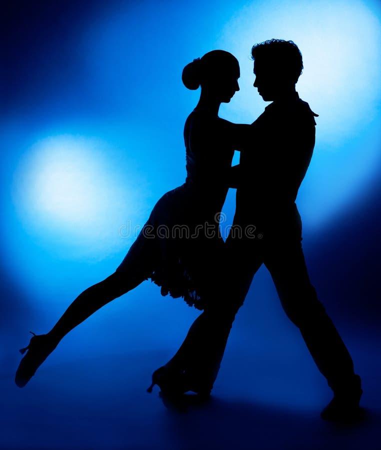 Dansend paar royalty-vrije stock foto