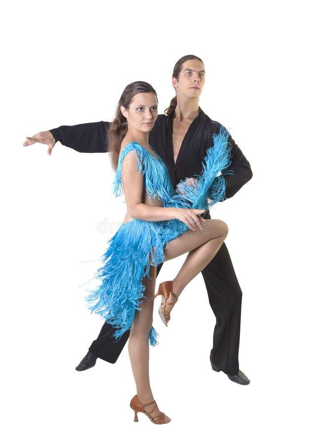 Dansend paar stock afbeelding