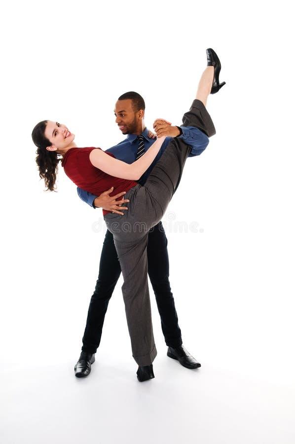 Dansend Paar stock afbeeldingen