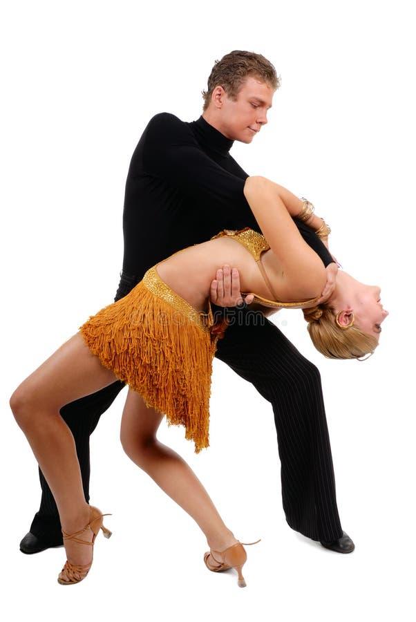 Dansend paar stock foto