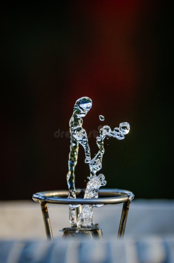 Dansend water royalty-vrije stock fotografie