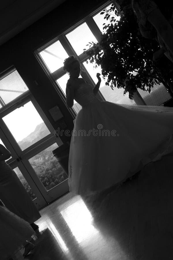 Dansende Bruid stock afbeelding