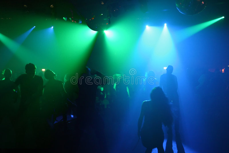 Dansende mensen stock fotografie