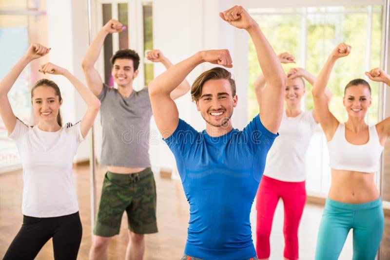 Dansende mensen royalty-vrije stock foto