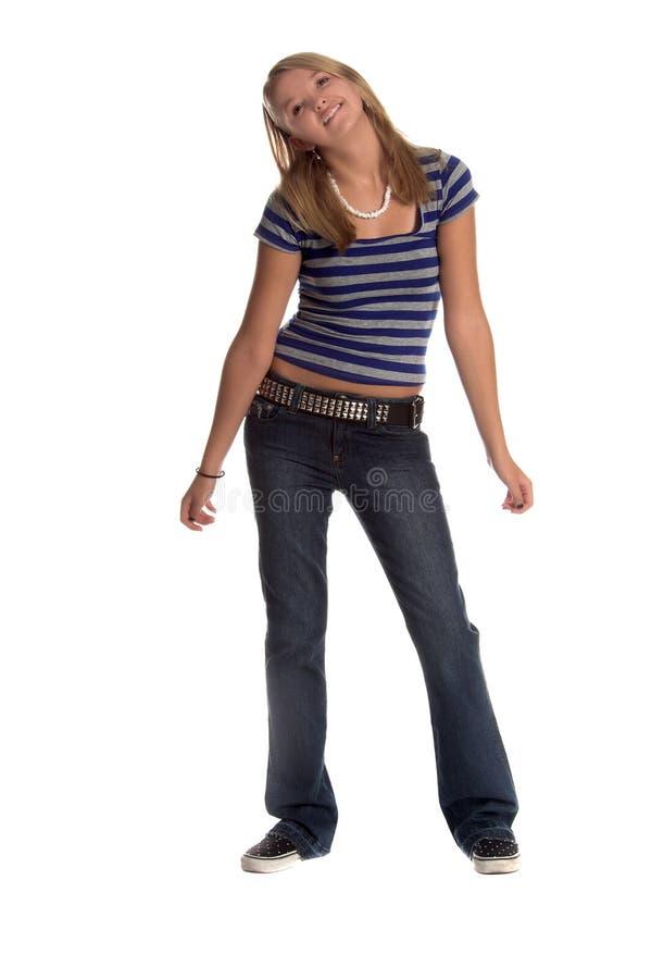 Dansende Student stock foto's
