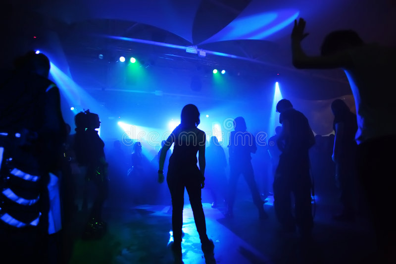 Dansende tieners royalty-vrije stock foto