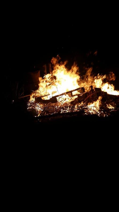 Dansende Vlammen royalty-vrije stock afbeelding