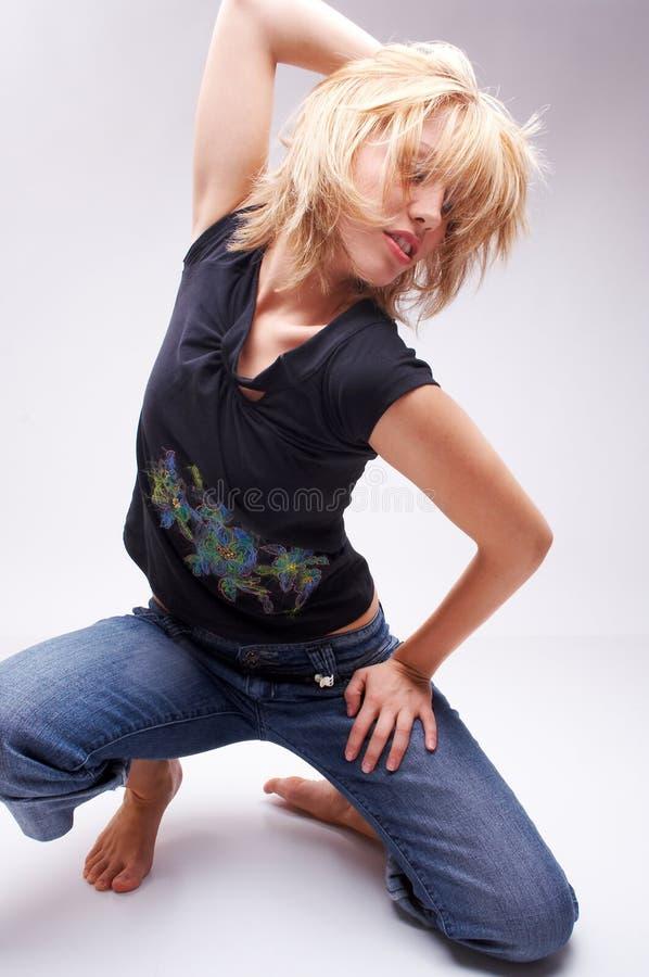 Danser royalty-vrije stock foto