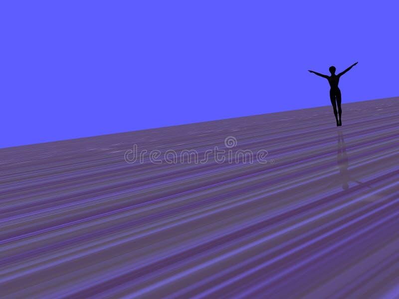 Danser vector illustratie