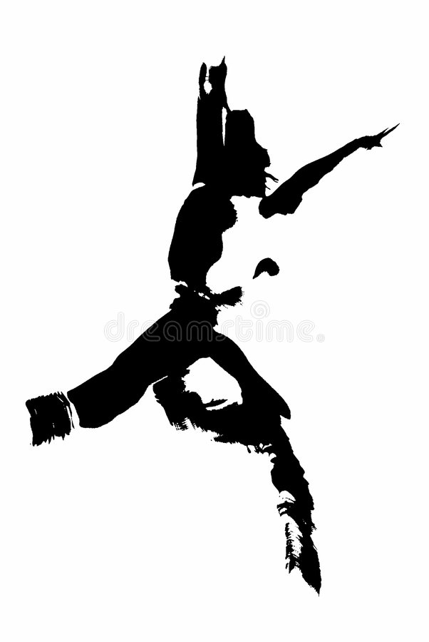 Download Danser stock illustratie. Afbeelding bestaande uit danser - 43886