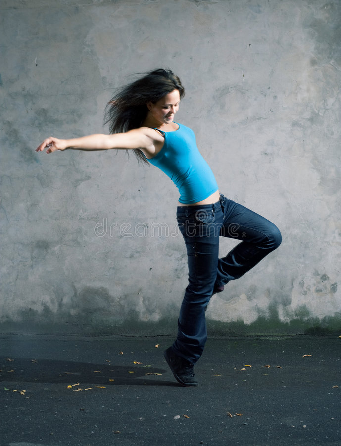 Danser. royalty-vrije stock foto's