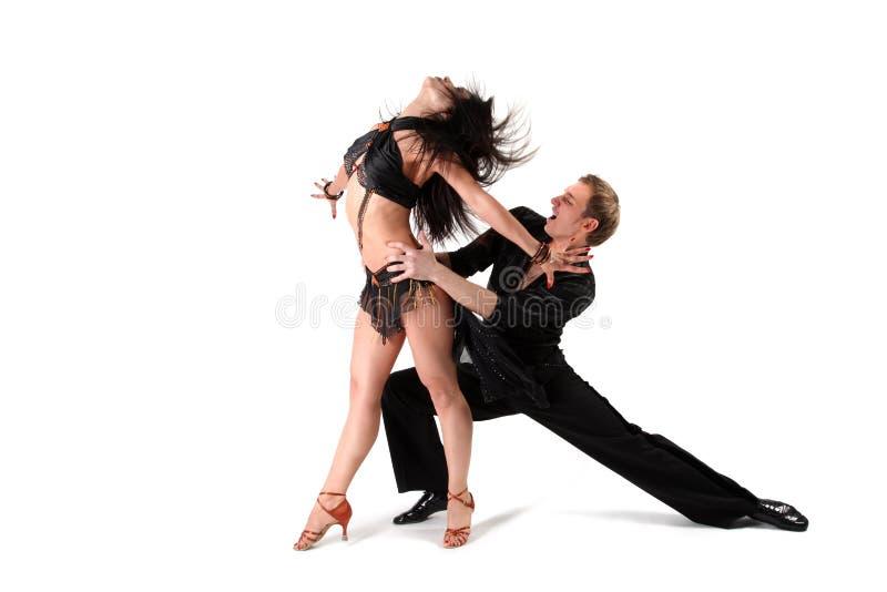 Danser in actie stock fotografie