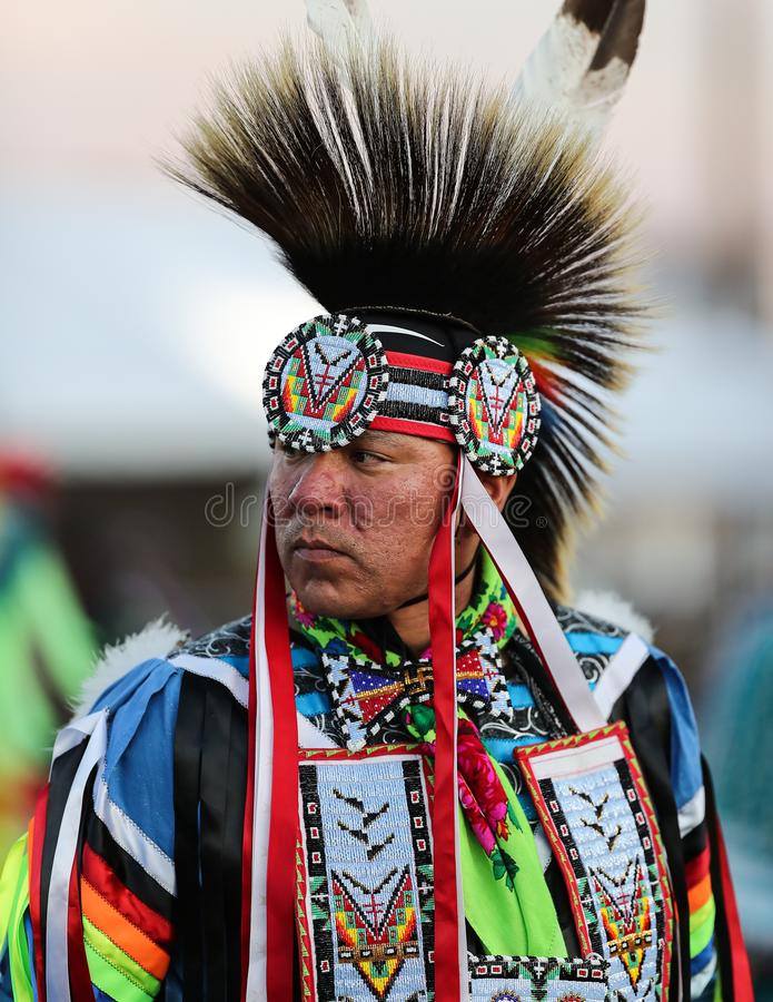 Danser With Feathers royalty-vrije stock afbeeldingen