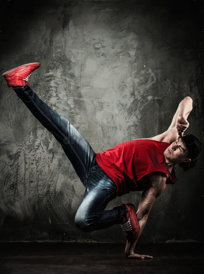 Danser le smurf d'homme photo stock