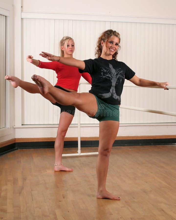 Dansers royalty-vrije stock afbeelding