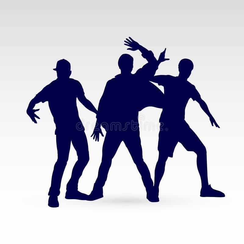 Danseur illustration de vecteur