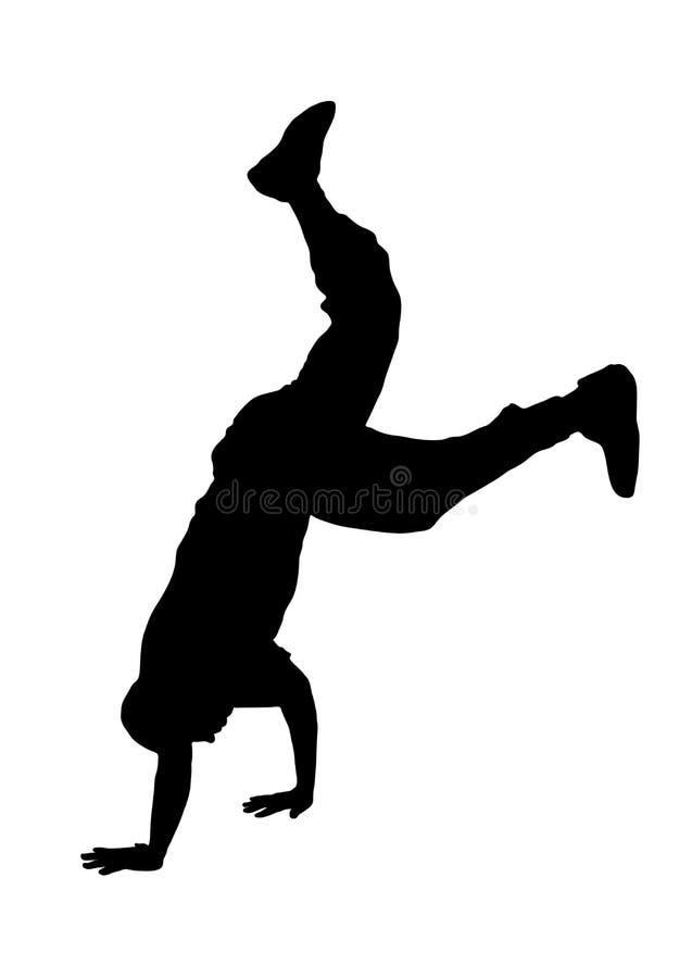 Danseur 2 de rue illustration libre de droits