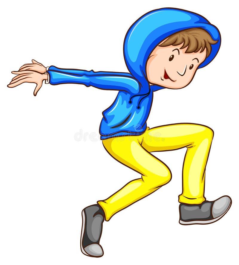 Download Danseur illustration de vecteur. Illustration du heureux - 45366198