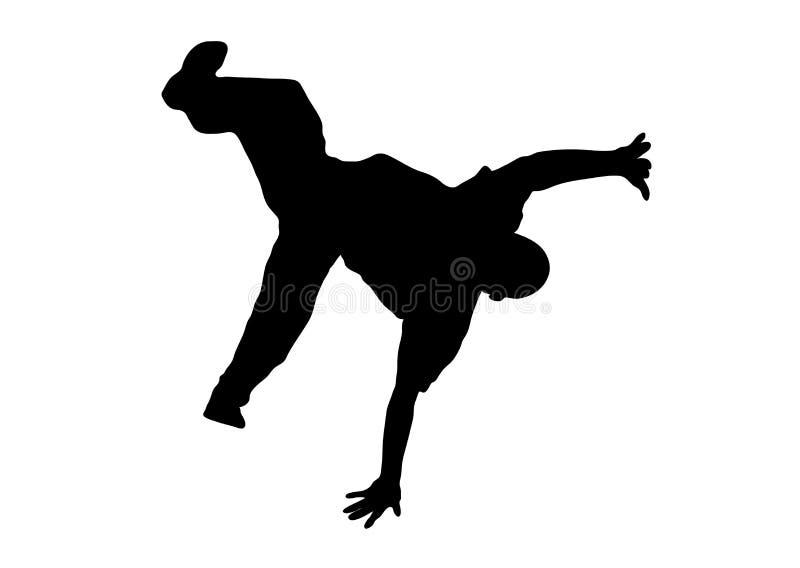 Danseur 7 de rue illustration de vecteur