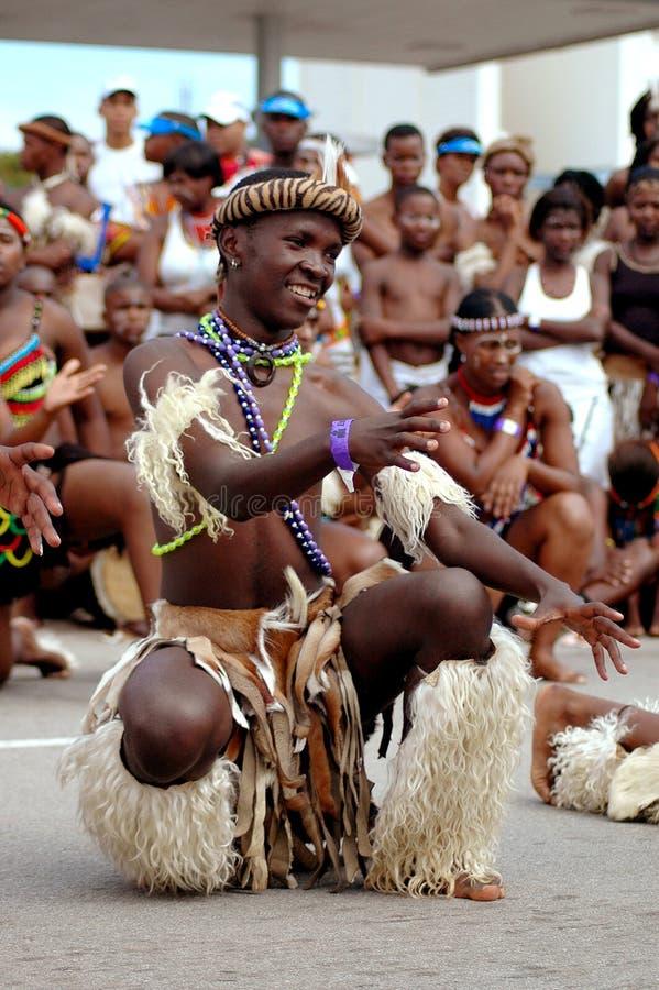 Danseur africain photo stock