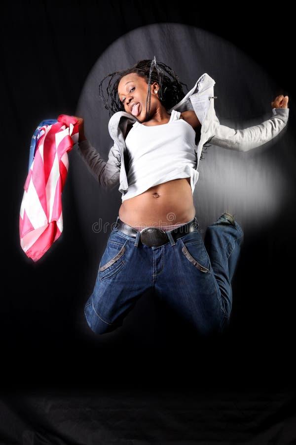 danseur afro-américain image libre de droits