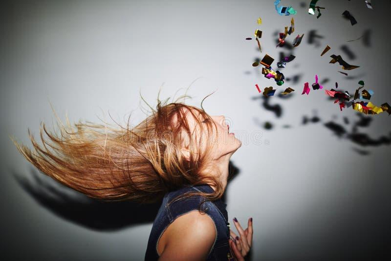 Danseur blond photographie stock libre de droits