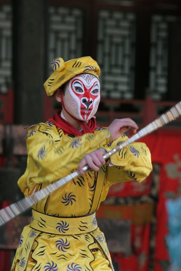 Danseur chinois image stock