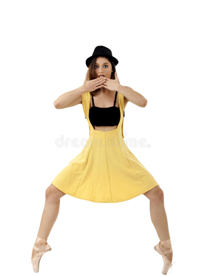 Danseur classique image libre de droits