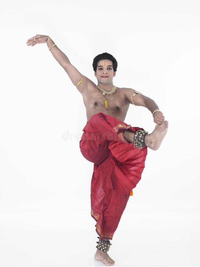 danseur classique Inde photo libre de droits