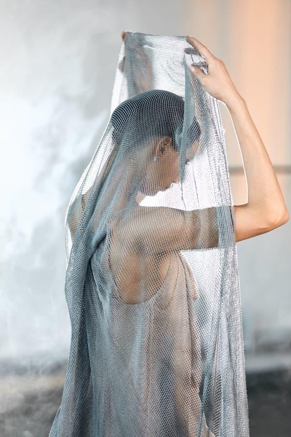 Danseur classique professionnel se reposant apr?s la repr?sentation Concept d'art image libre de droits