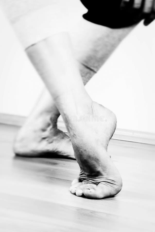 Danseur contemporain Fett photos libres de droits