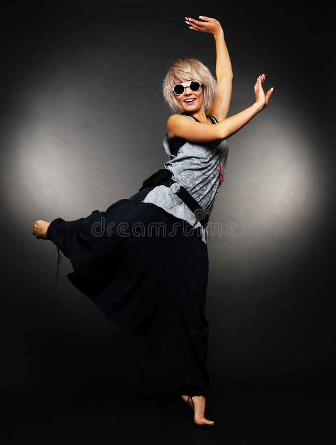 Danseur de ballet de charme photos libres de droits