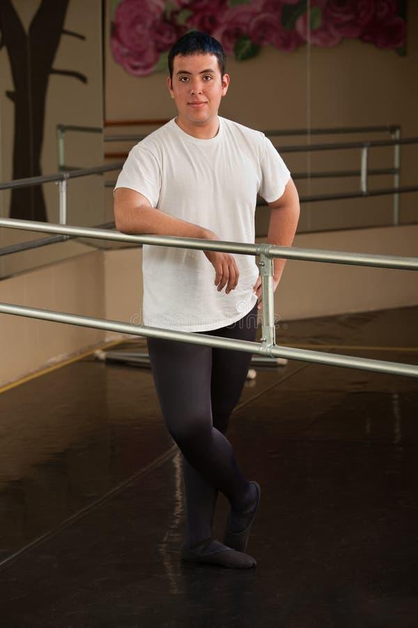 Danseur de ballet mâle image stock