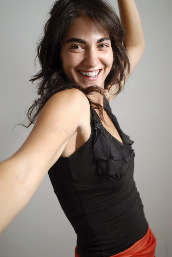 Danseur de bonheur photos libres de droits