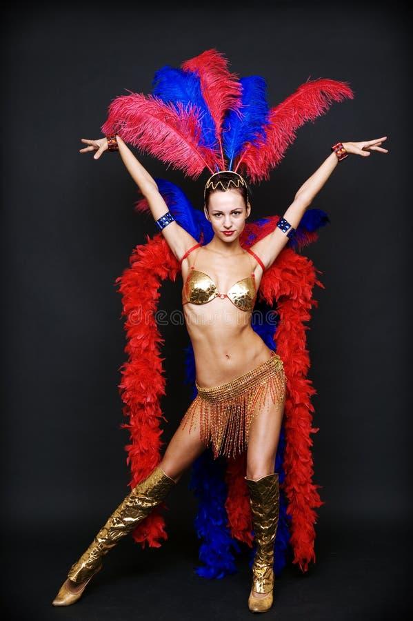 Danseur de cabaret image stock