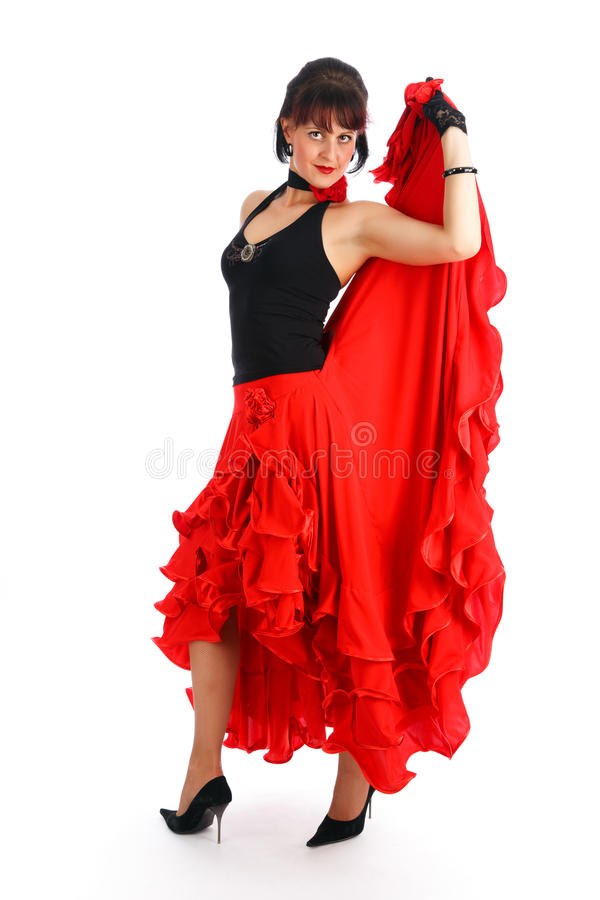 Danseur de flamenco images stock