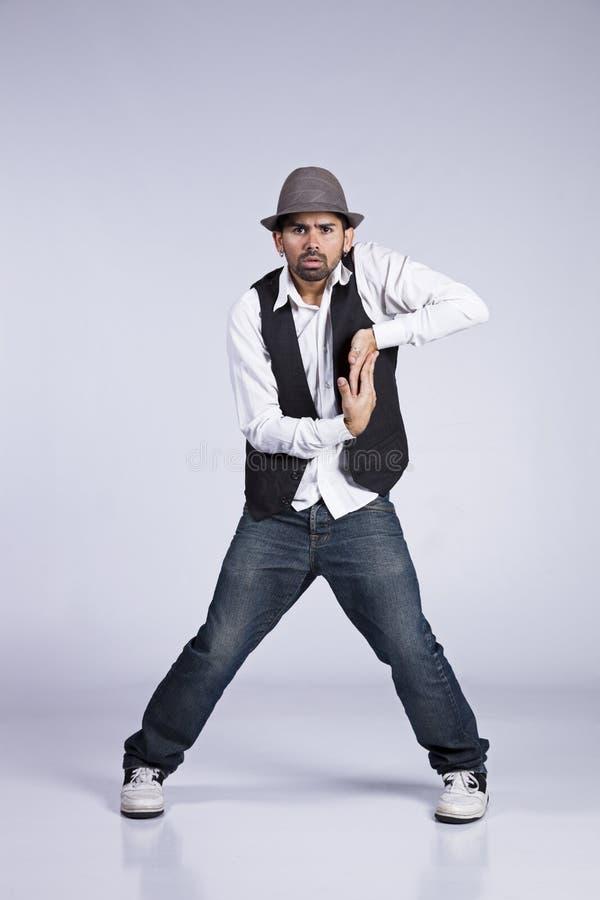 Danseur de Hip Hop image libre de droits