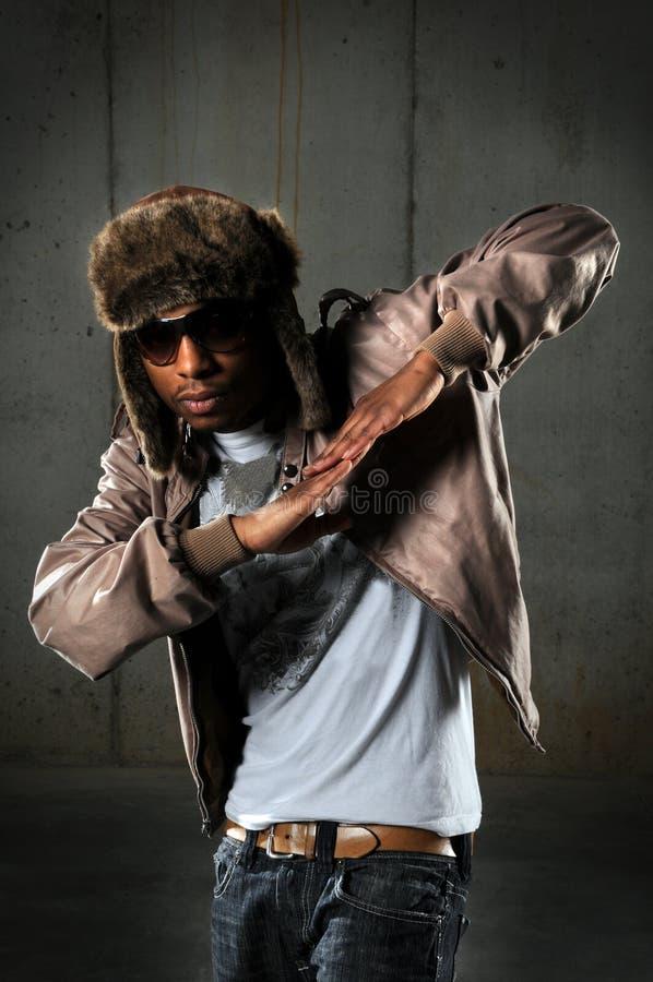 Danseur de Hip Hop photo stock