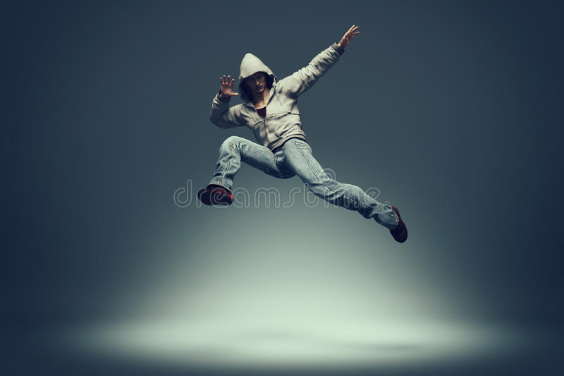 Danseur de Hip Hop illustration stock