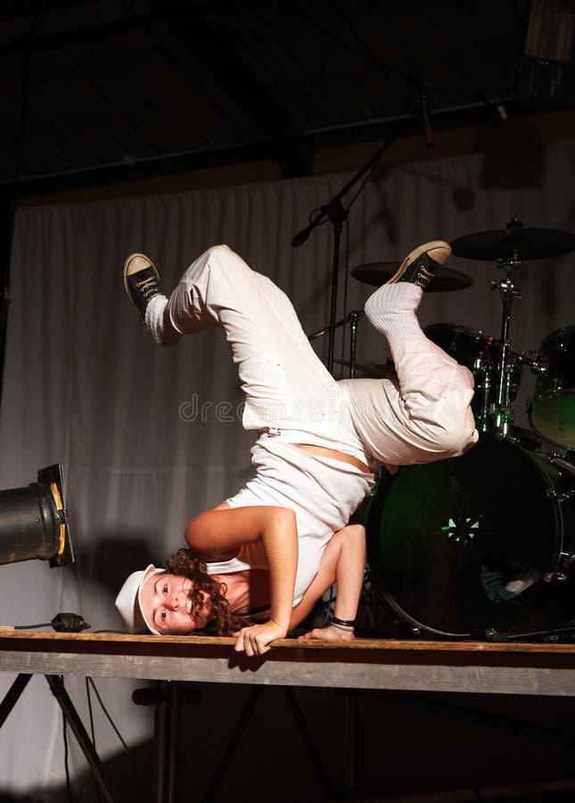 Danseur de hip-hop de style libre photographie stock