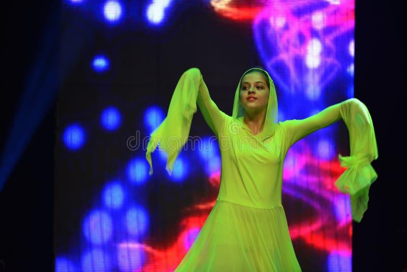 Danseur de l'adolescence israélien image stock