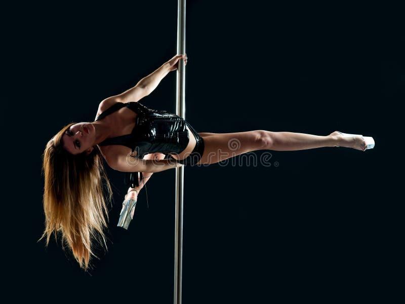 Danseur de pôle de femme photos stock