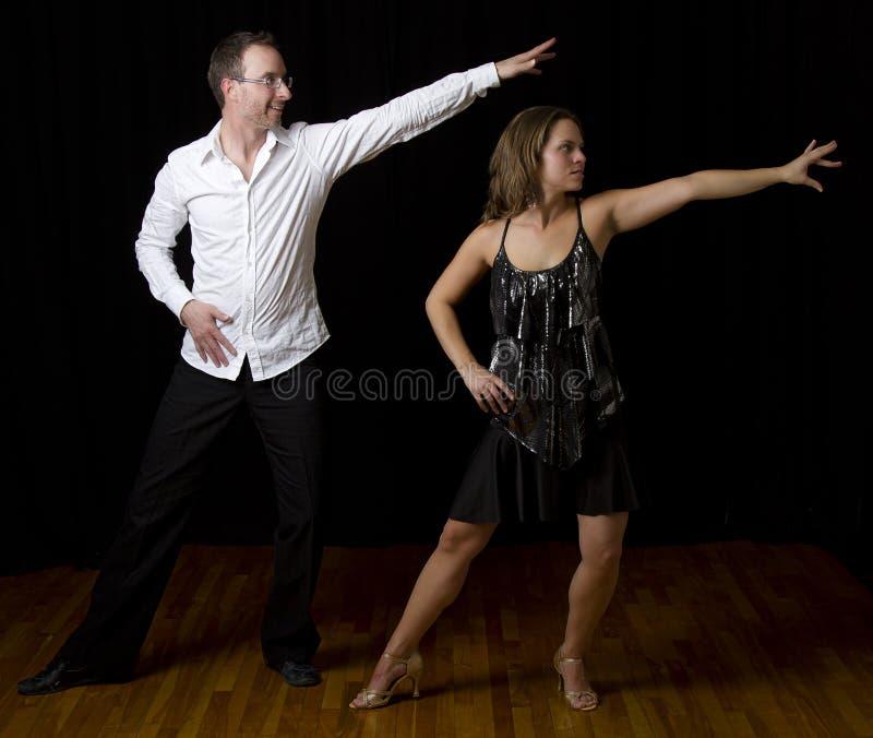 Danseur de Salsa image libre de droits