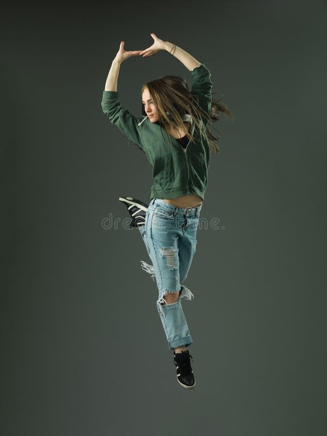 Danseur de style libre photographie stock