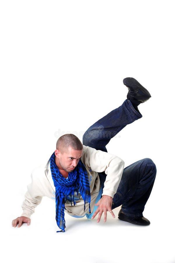 Danseur frais d'homme moderne photographie stock